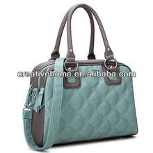 2-in-1 Winter Fantasia Series Classic Argyle PU Leather Handbag / Single-shoulder Bags