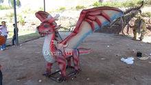 Outdoor high simulation animatronic dragon