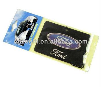 Ford Car Paper Freshener, aroma paper card, Car logo air Freshener card