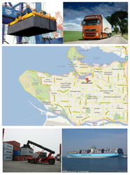 Container Shipping from Ningbo to Vancouver, Canada