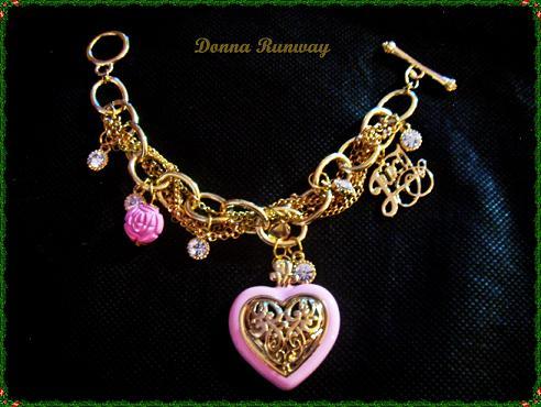 Chunky charm bracelet - TheFind