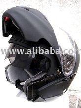 Masei 803 DOT Flip-up Motorcycle Helmet FLAT BLACK