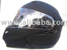 Modular Flip Up Motorcycle Helmet 815 Flat Black