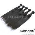 Facile à coudre de tressage de cheveux 100% non transformés virgin extension de cheveux brésiliens