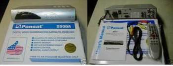 Pansat 2500A Satellite Receiver