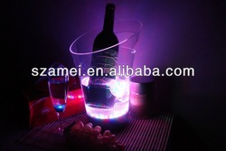 POP acrylic led ice buckets/acrylic LED/acrylic
