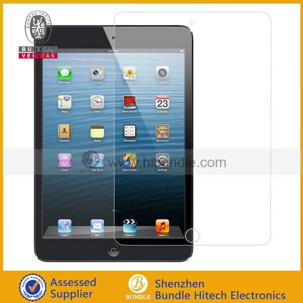 2013 large stock for mini ipad screen protector