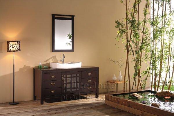 Baños Nuevos Modernos:K030 nuevos y diseño moderno cuarto de baño sistema de la vanidad w