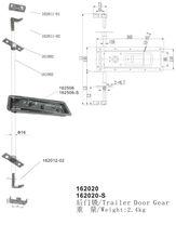 steel door container lock