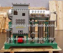 Dehyfration coalescing turbine oil refining equipment