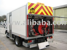 Jetting Machine Tanker Lorry Mounted