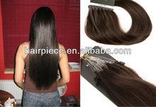 micro ring loop hair extension,high quality peruvian hair