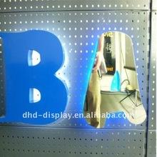 LED backlit metal sign for Australia