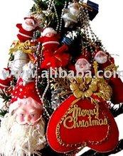 New Brand Mixed Christmas tree Ornament Decoration shoe santa claus