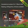 حار بيع في 1 2 استخراج وكيدوم غانوديرما القهوة ضئيلة