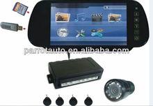 7inch digital tft video car parking sensor