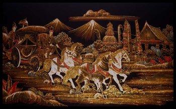 lukisan batik painting