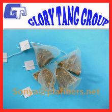 different shape tea bag,round tea bag,ecofriendly and biodegradable