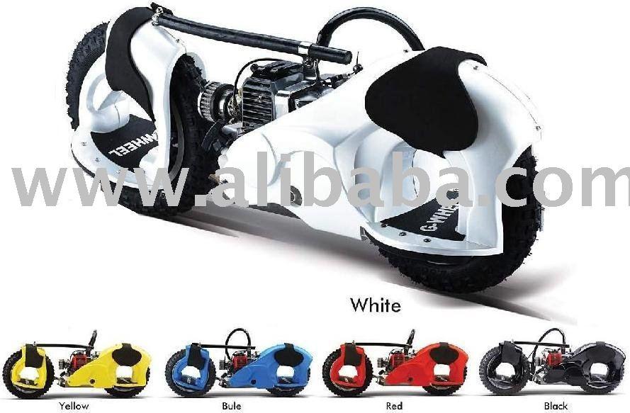 G-Wheel 49cc Stand Up Motorized Skateboard