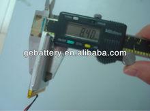 GEB904450 Hot sale 3.7V2200mAh lithium polymer battery cell/3.7v li-ion 2200mah battery