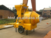 Best seller JZM350 construction equipment concrete mixers small