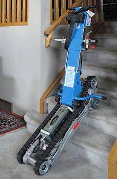 garaventa stair trac portable wheelchair lift. Black Bedroom Furniture Sets. Home Design Ideas