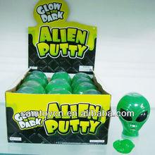 Alien putty/slime alien toy