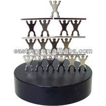 Metal Magnetic Acrobatic Sculpture