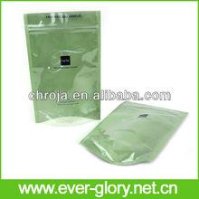 Bottom Gusset Ecofriendly Transparent Plastic Packaging Bags