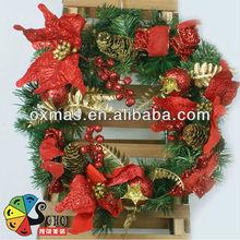 Nuevo diseño decoración de la caída de la navidad guirnalda