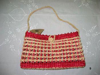Corn Straw Red Bag