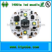 1400lm LED module led pcb assembly