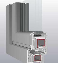 PVC Window - SCHUCO German profile Si 82