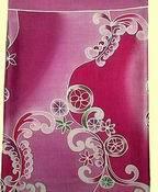 100% Thai Silk Fabrics With Batik Patterns