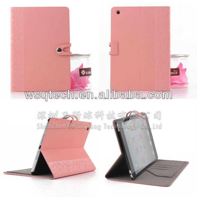 For Apple Mini iPad Case PU Flip Design High Quality