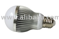 5W white LED light bulb
