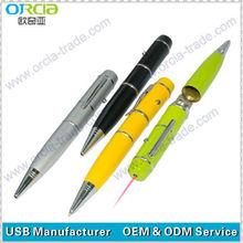 buy good quality pen shape usb gift/pen with usb pen drive