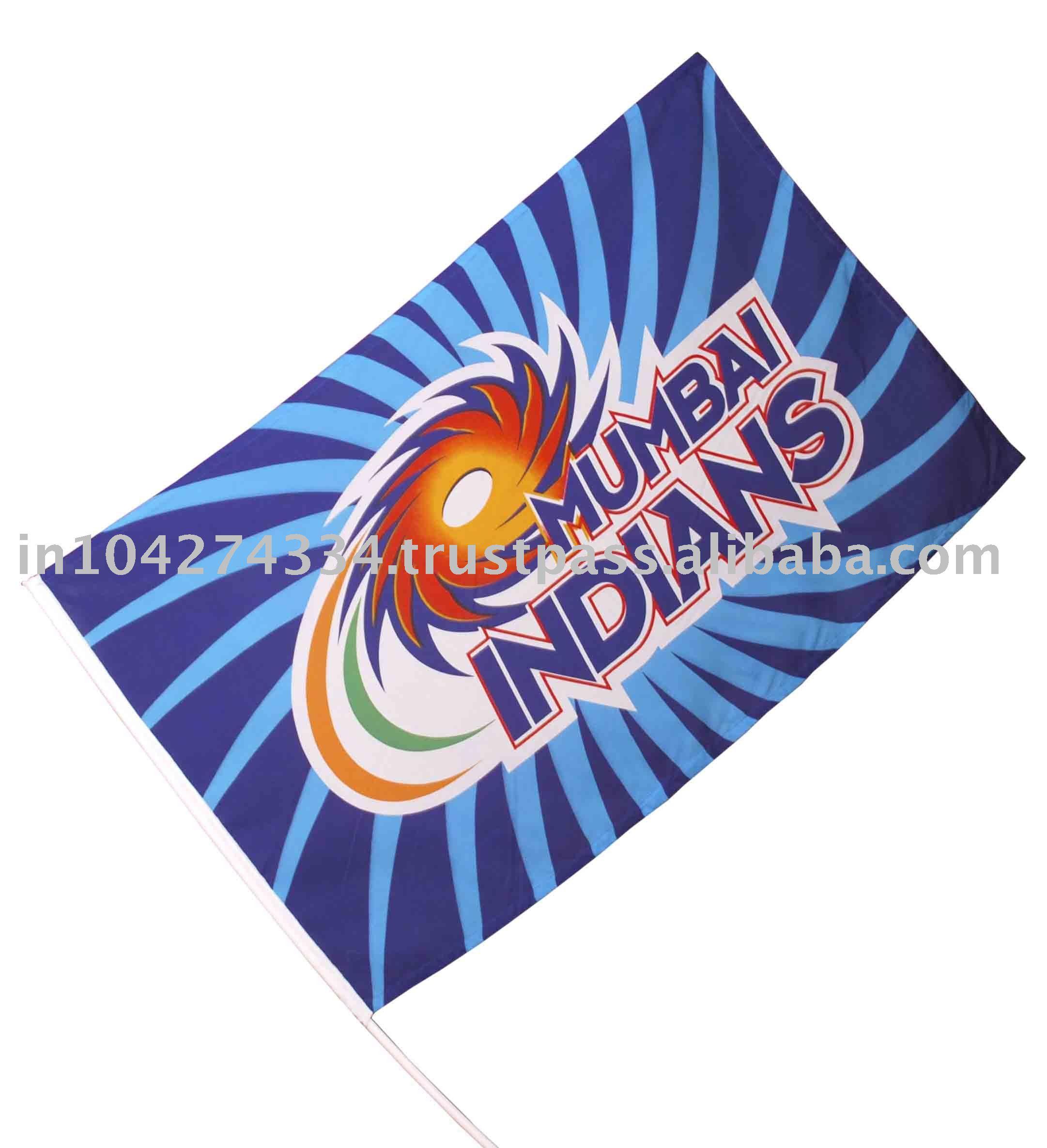 MUMBAI INDIAN FLAG