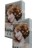 saisi double function hair dye like l'oreal hair color