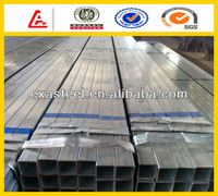 HDG square/rectangular steel tube/pipe/tubing