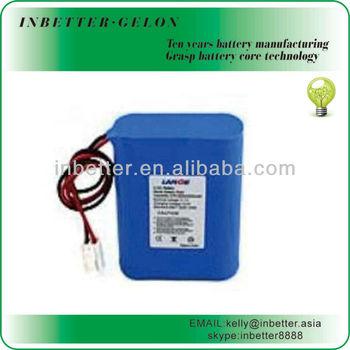 LED 12v Battery Pack 2000mAh Lithium Li ion Battery