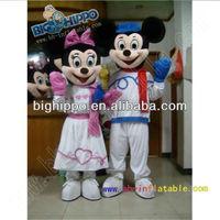 mickey minnie mouse mascot costume