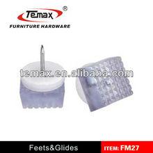 Rubber feet for equipment, square rubber feet