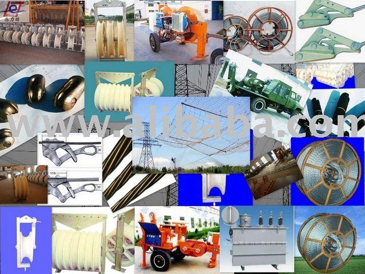 Overhead transmission line stringing equipment;Stringing equipment;