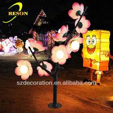 RS-TL102 H150cm Christmas flower outdoor tree lighting
