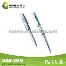 Fancy Design Low Cost Mini Pen USB Flash Drives Metal