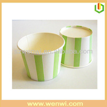 Dome lids paper cup ice cream cups with lids