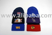 knit caps and hats