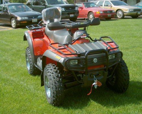 NEW 2004 Quest MAX XT 650 4x4 Bombardier ATV 2-UP Quad 600