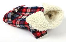 Tartan Winter Dog Clothing